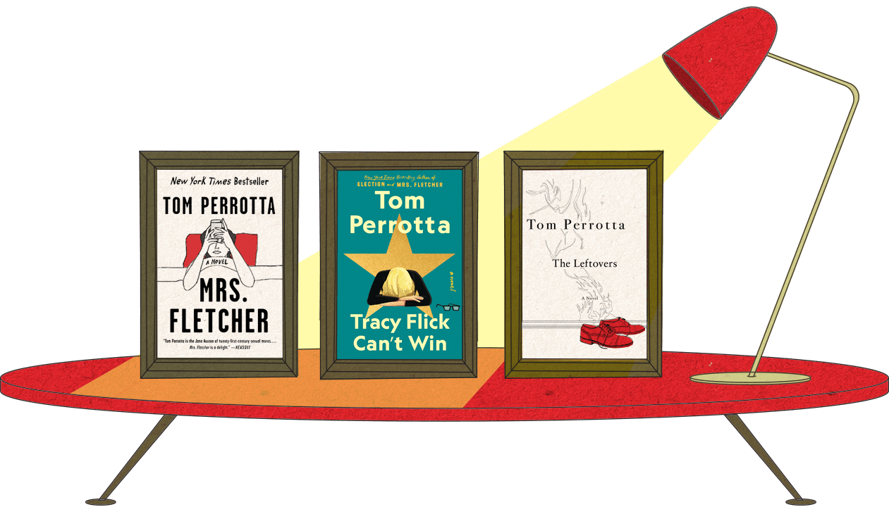 Tom Perrotta, author of Election, Tracy Flick Can't Win, Mrs. Fletcher